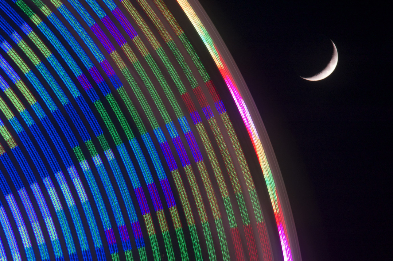 Color And The Crescent By Timothy Logan Huebel Artfields Art Competition