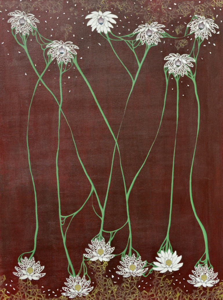 Lotus flower by ashley burton artfields art competition lotus flower izmirmasajfo